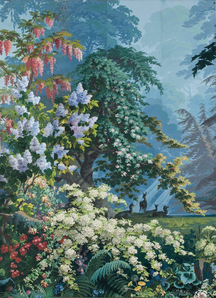 17 meilleures id es propos de pochoirs de mur d 39 arbre sur pinterest photos de murs de - Quatre murs papier peint ...