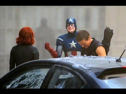 The Avengers - Bloopers
