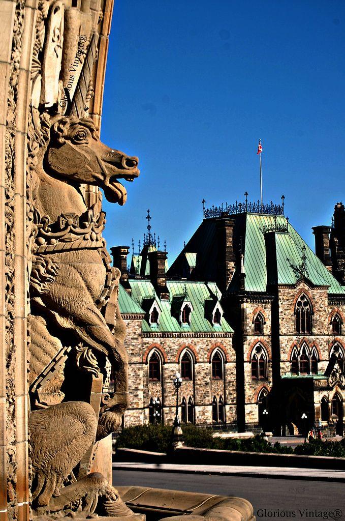 Parliament Hill Ottawa ~ Happy Thanksgiving Canada