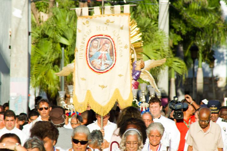 Virgen de la Altagracia was crowned the spiritual mother of Higuey by pontificate of Pius XI in August 15, 1922.