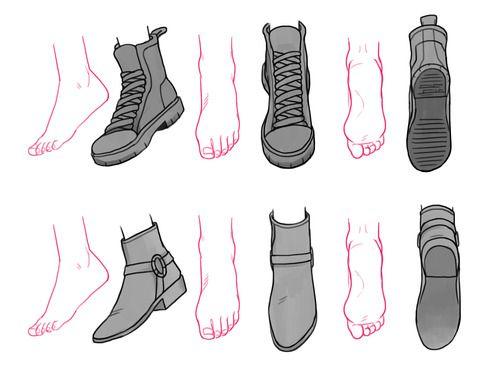 drawing shoes - Szukaj w Google
