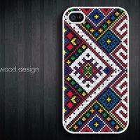 iphone 4 case - HUICHOL