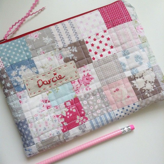 Pretty #Tilda #zipperpouch