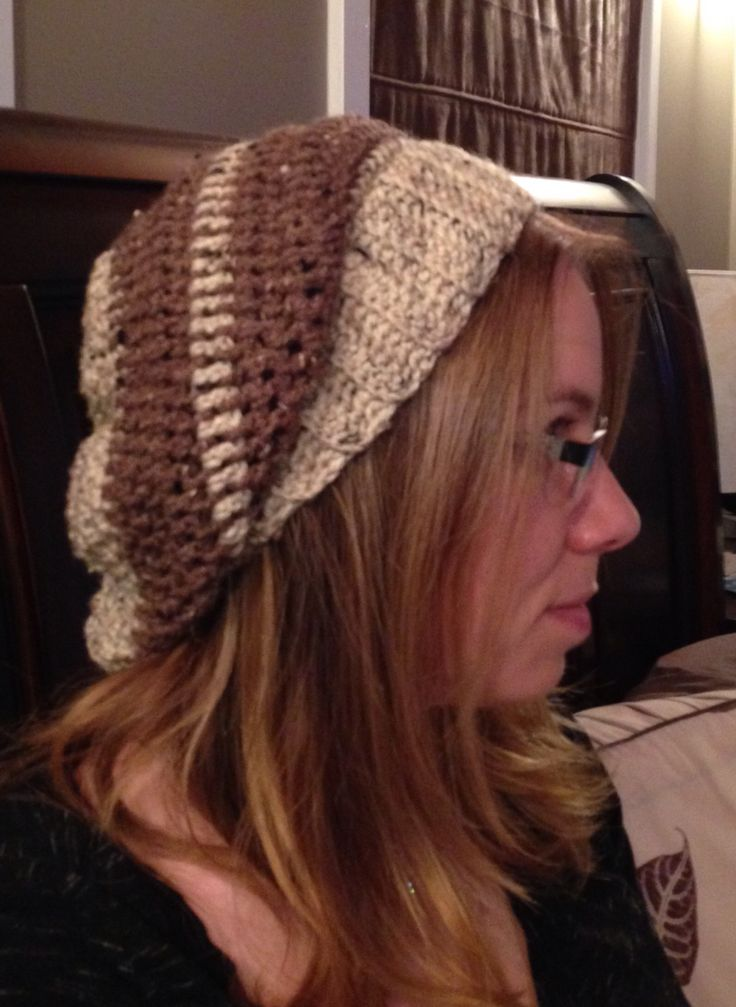My slouchy hat