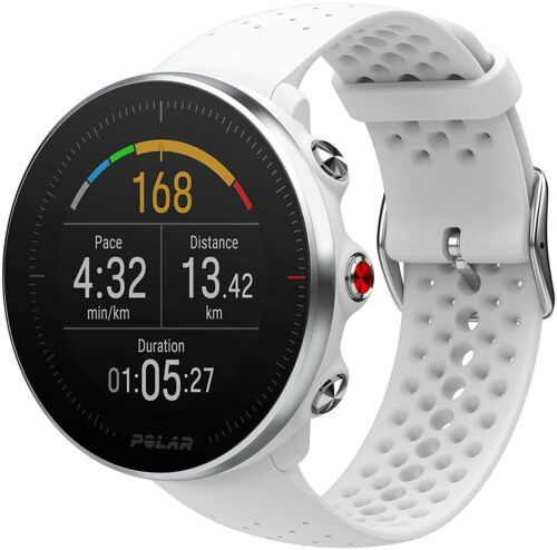 Details About Polar Vantage M Gps Hrm Multisport Watch White In