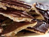 "Sweet and Saltines Recipe this was referred to as ""CRACK"" by Trisha"