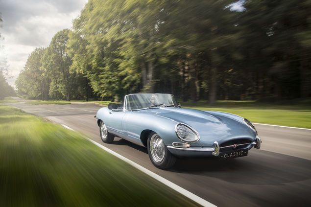Elektrifizierung ab 2020 : Jaguar E-Type Zero: So schön ist Elektromobilität – GQ Germany