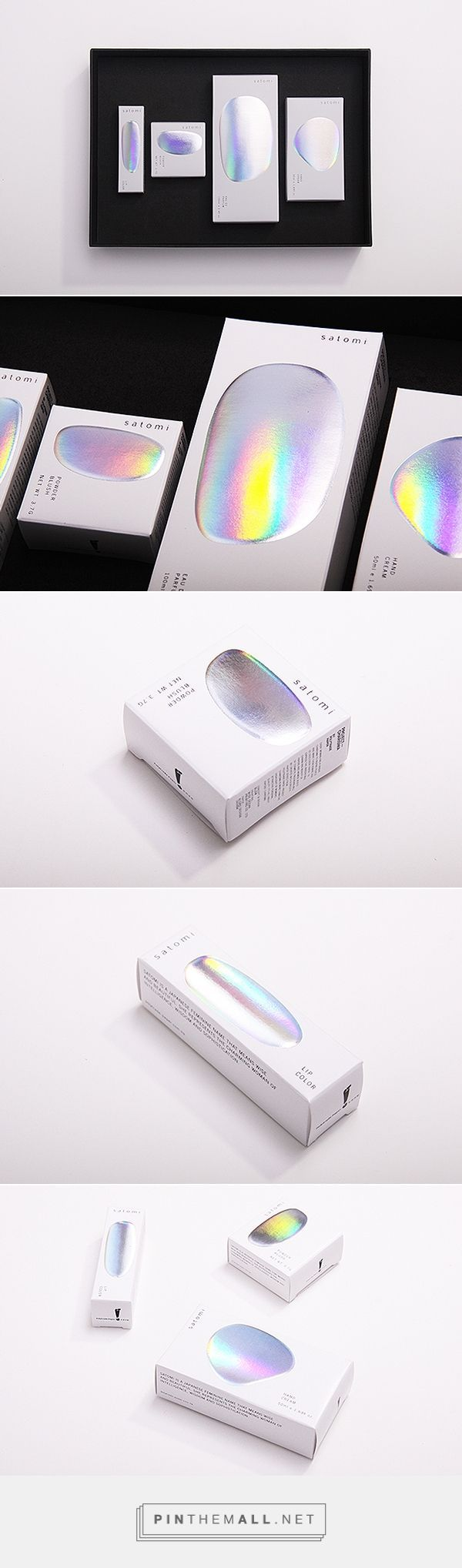 Satomi Charisma - cosmetic packaging - holographic.