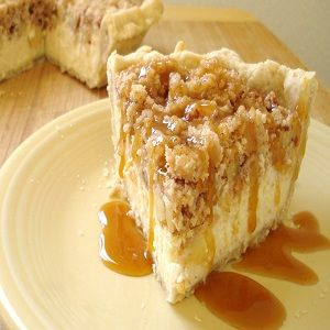 Winter Apple Cheesecake #yummy #nomz #cheesecake #holidays #holidayrecipes #winter #tistheseason #dessert #modernchristmastrees http://www.modernchristmastrees.com