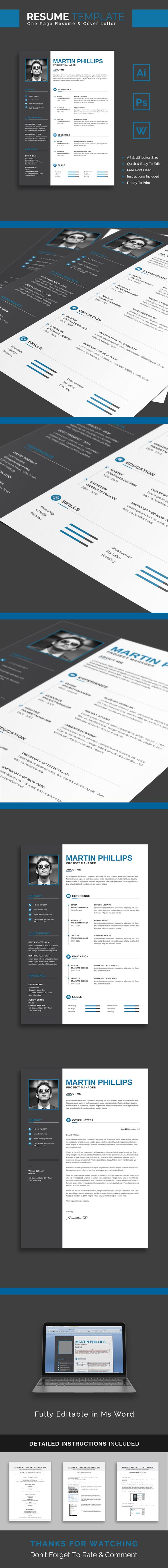 Resume Template Martin The 26 best