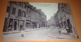 Cpa Montbeliard Rue de Belfort 1919 Carte Postale 25 Doubs Rare Région Bourgogne Franche Comté    En vente sur Delcampe