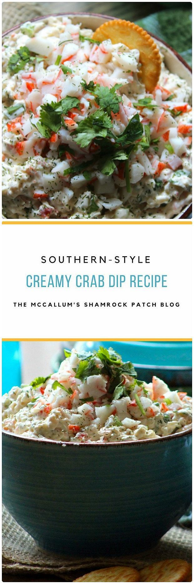 Southern Creamy Crab Dip is one of the snacking staples found in my house during late spring and early summer. Made with a big heap of traditional Southern love and delicious tasting ingredients; s…