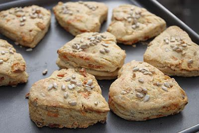 A2K - A Seasonal Veg Table: Sweet Potato Rosemary Scones (vegan)