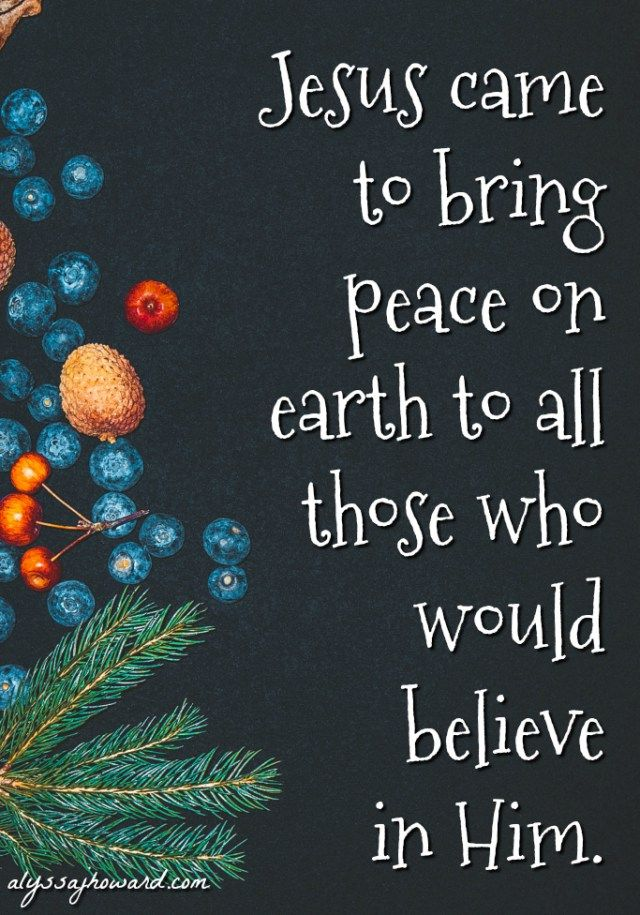 God longs to bring His peace to every man, woman, and child on this planet. But the truth is that peace in only found in Jesus. Only those who belong to Him will experience His peace beyond all understanding.