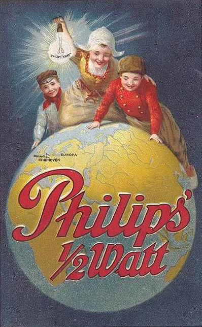 Philips op de Wereldbol