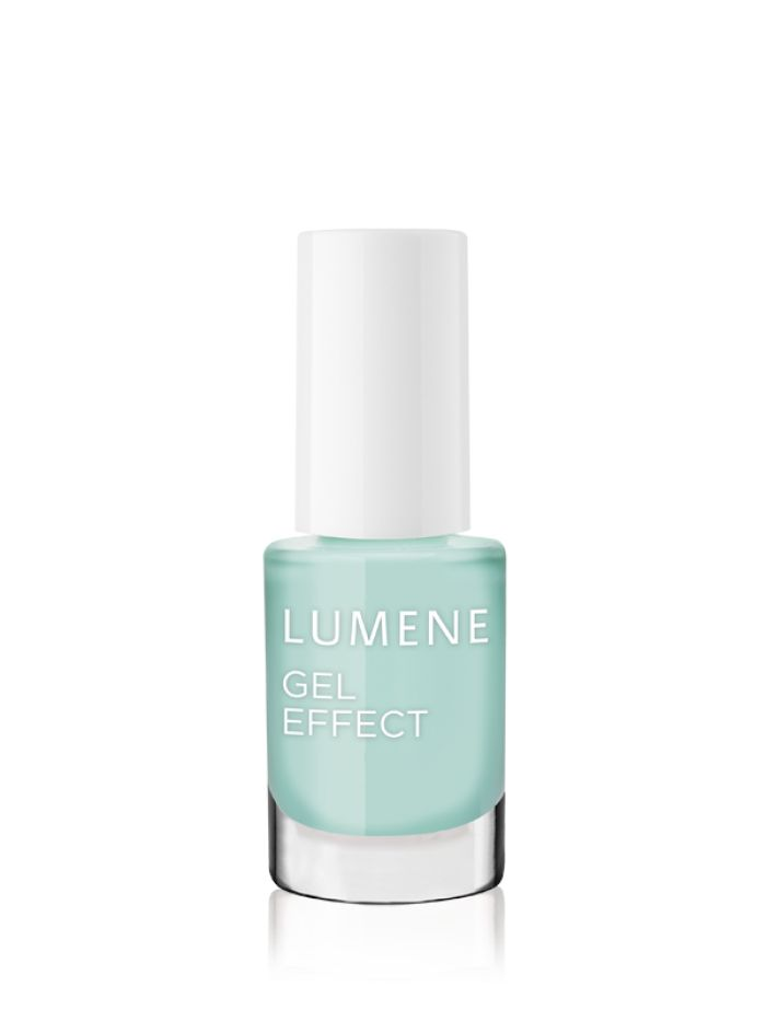 "Spring 2016 Trend Report: ""The New Frenchie"". Get the look with new #Lumene Gel Effect Nail Polishes. #nailpolish #spring #trends"