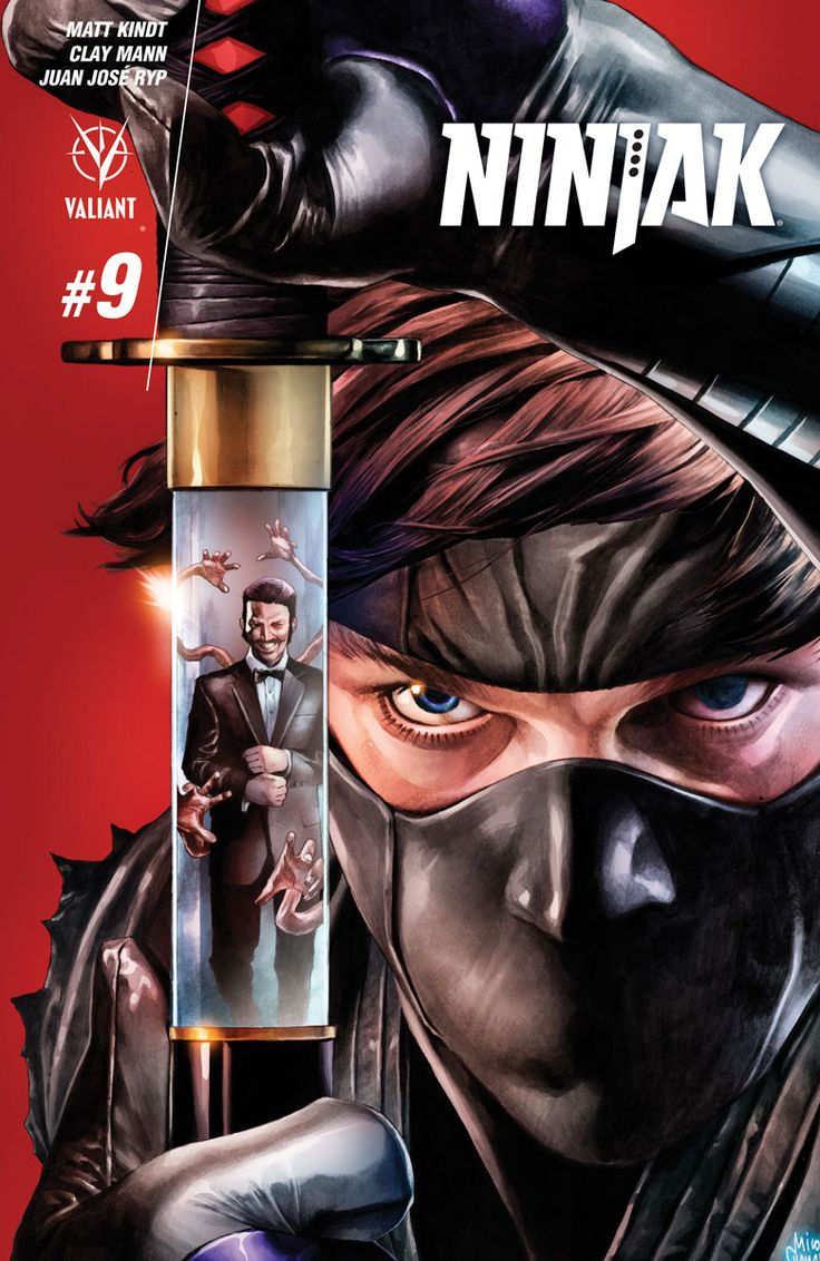 Ninjak #9 Cover A by Mico Suayan
