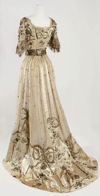 .: Hallé French, Evening Dresses, Fashion, Vintage Lace, Evening Gowns, Jeanne Hallée, 1900, Lace Dresses, Vintage Clothing