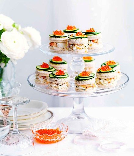 High tea recipes :: Gourmet Traveller Magazine Mobile. Love the idea of a savoury style macaroon piece