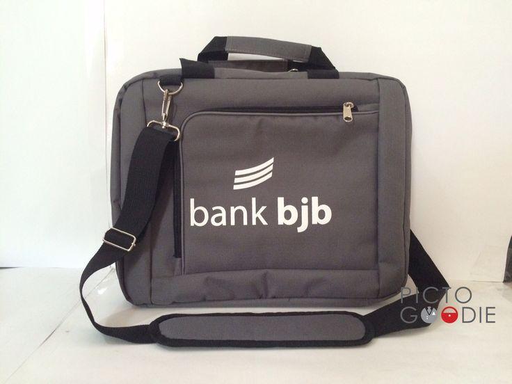 Tas Selempang / Tas Laptop - Bank BJB