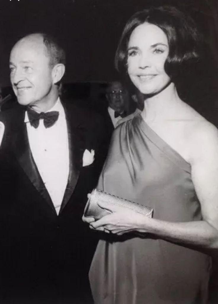 jennfer jones and Frank McCarthy (producer) 1971 oscar