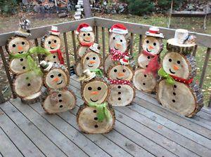 rsultats de recherche dimages pour bonhomme de neige en bois pour l extrieur - Decoration De Noel Exterieur En Bois