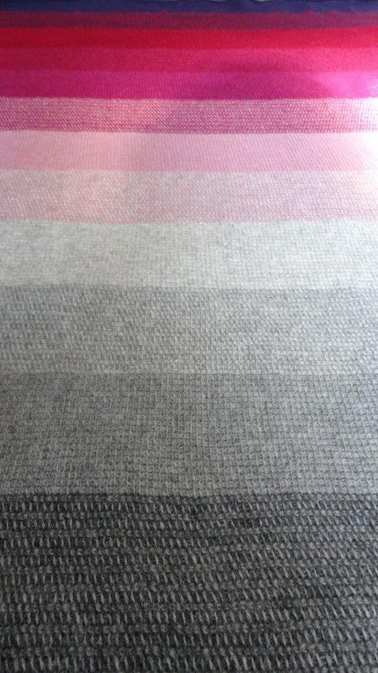Tunesisk hæklet tæppe