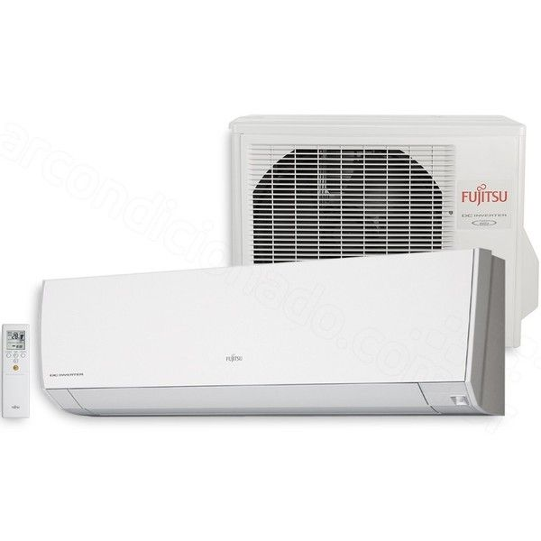 awesome Ar Condicionado Split Hi - Wall Inverter Fujitsu 12.000 BTUs Quente / Frio Com Sensor de Presença 220V ASBG12LMCA - BR | AOBG12LMCA