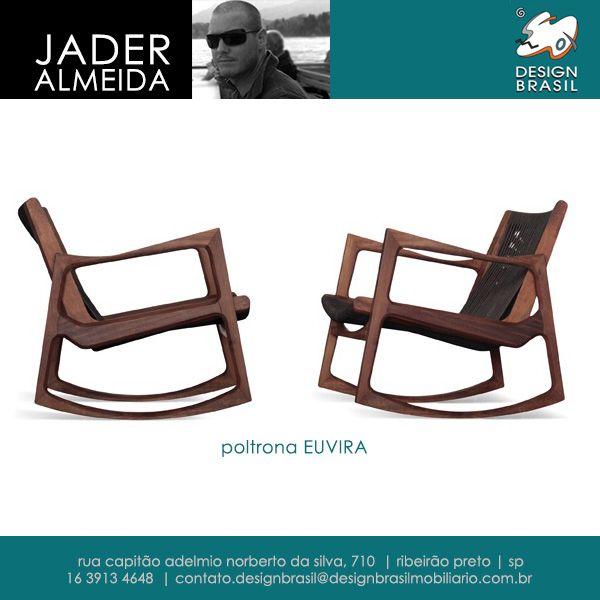 Poltrona Euvira de Jader Almeida #JaderAlmeida #desenhoindustrial #mobiliario #moveis #furniture #contemporaneo #arte #design #brasil #designbrasil #brasileiro #poltronaeuvira #euvira