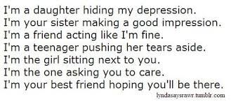 quotes about depression and self harm - Google Search