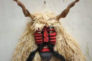 Busójárás Busó farsangi maszk álarc fafaragó Baráth Gábor Mohács