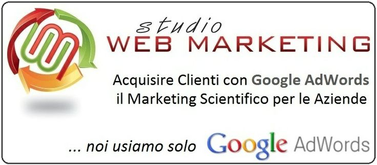 Studio Web Marketing è Google Partner Certificato. www.studiowebmarketing.it