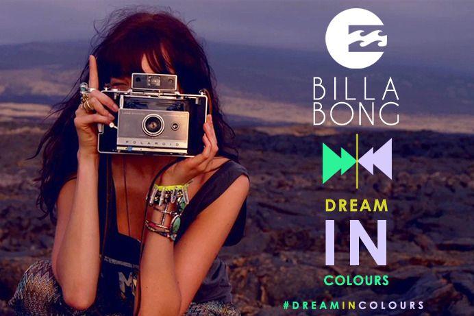 Faça parte da equipe oficial de fotografia da Billabong nos EUA