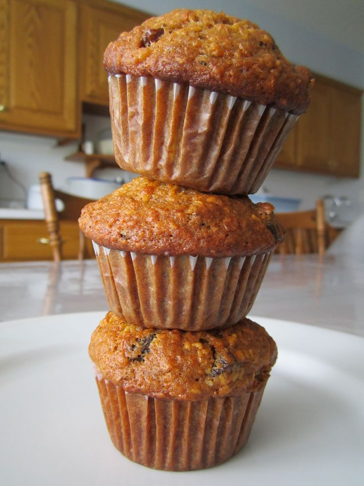 Morning glory muffins. yummtastic Try less oil, like 1/2 cup and less sugar next time