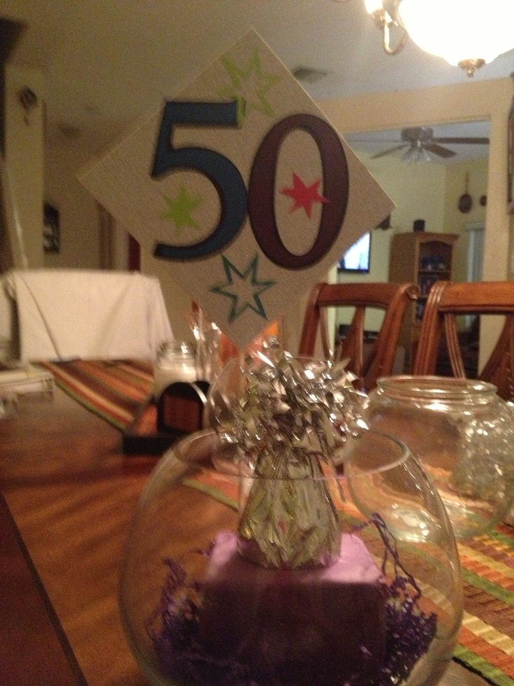 1000 images about party decorations on pinterest 50th for Table decoration 50th birthday