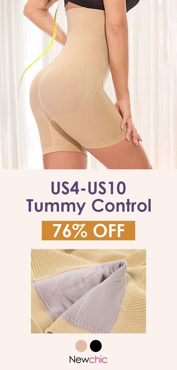 a7430ac015d Sexy High Waisted Butt Lifter Tummy Control Hollow Butt Shorts