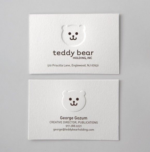 15 Gorgeous Embossed Business Cards