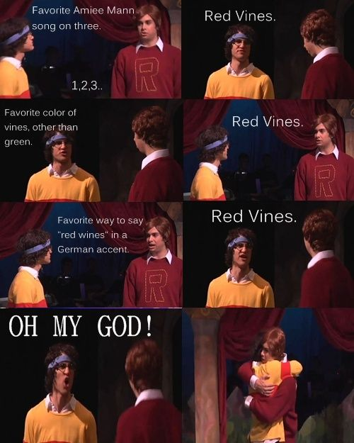 red vines! a very potter musical:)
