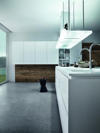 Cloe - Silk-effect white lacquer - http://cesar.it/en/cucine/cloe/laccato-seta-bianco/