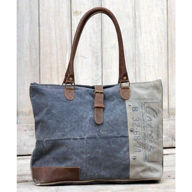Gaynor Vintage Army Tent Canvas & Leather Hand Bag shopping, Buy Bags online at MyDeal for best deals, coupons, bargains, sales