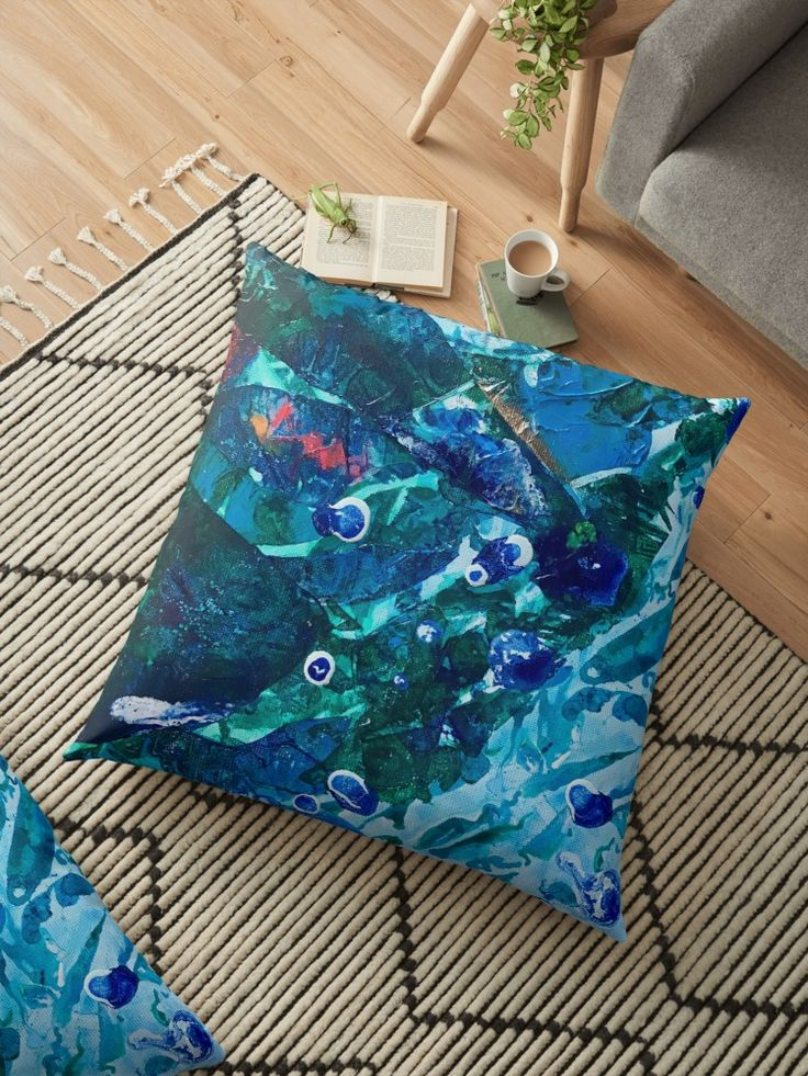 Look Into the Deep, Environmental Tiny World Collection • home decor and fashion - Also buy this artwork on home decor, apparel, stickers, and more. Art by @anoellejay and @redbubble