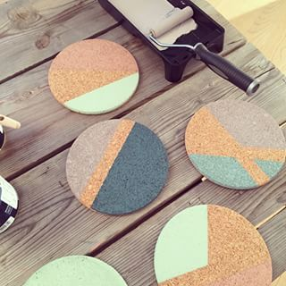 Kork DIY opslagstavle – Home By Dytbat