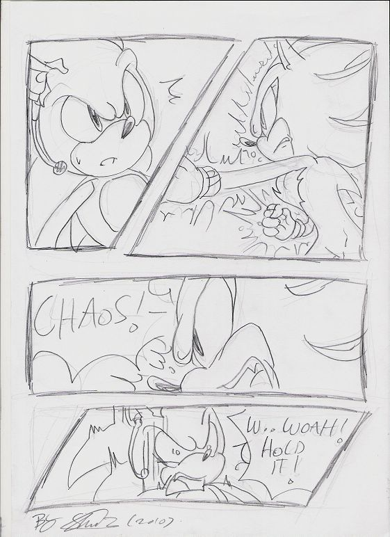 page 14. I think you can read my writing XD so I don't think I need lines Artwork and story (c) shade/soina/f-sonic Characters (c) SEGA/sonic team