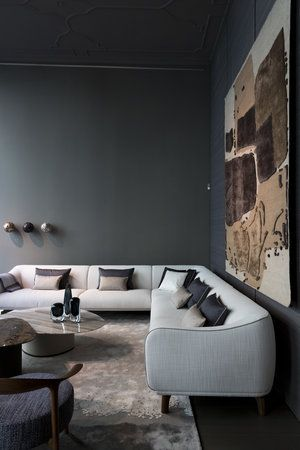 showroom on Via Durini Space furniture