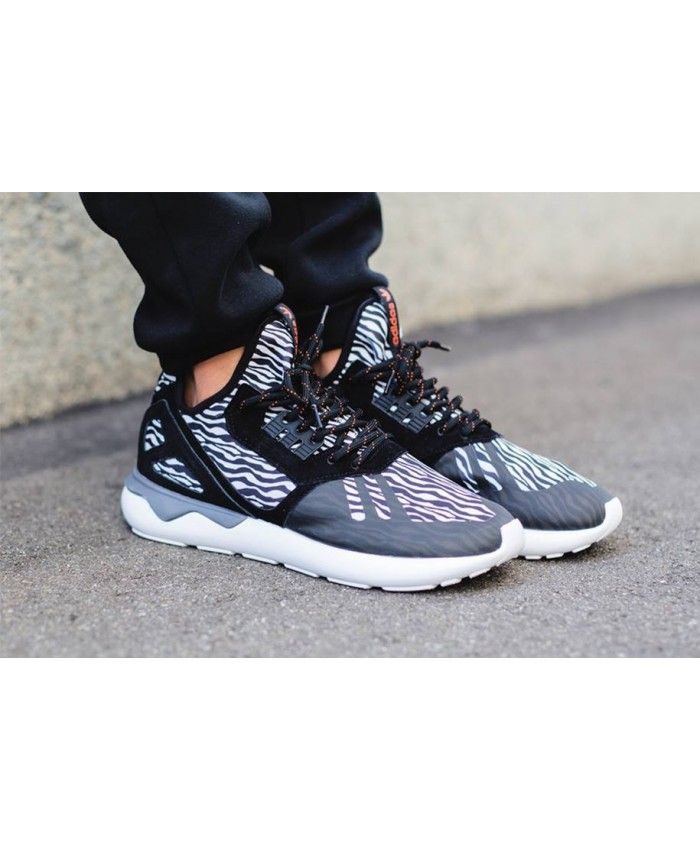 super popular 75332 29fc2 Adidas Originals Tubular Runner Zebra Shoes
