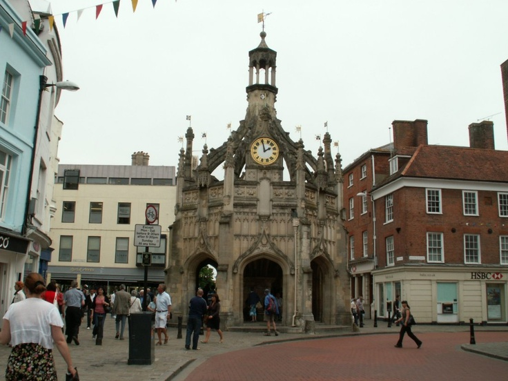 Chichester town centre, West Sussex 2011