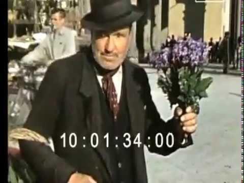 Firenze Toscana (1937 rare color footage)