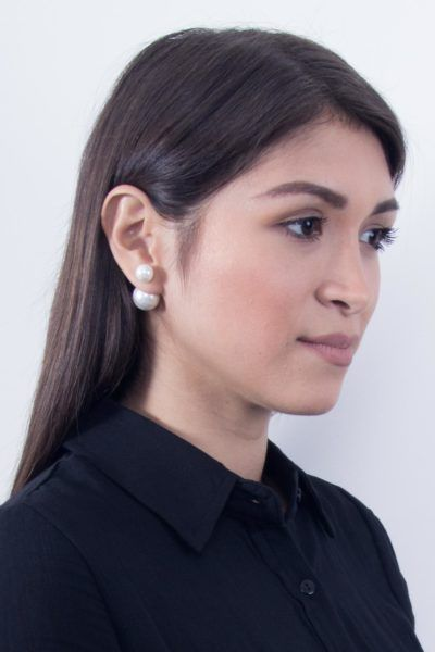 Timeless and Classy | Pearl Earrings | Scandinavian Style