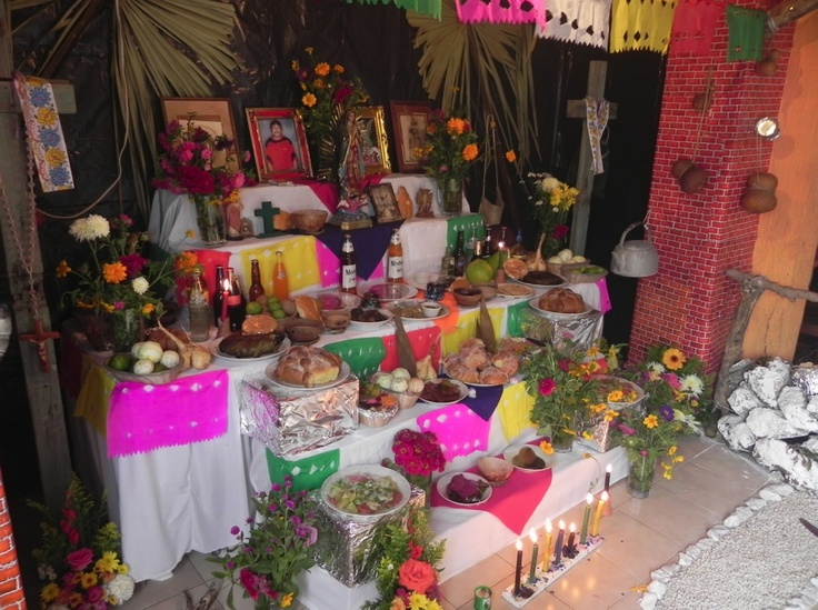 Day of the dead in Yucatan is called Hanal Pixan... a delicious meal to remember people who left us.