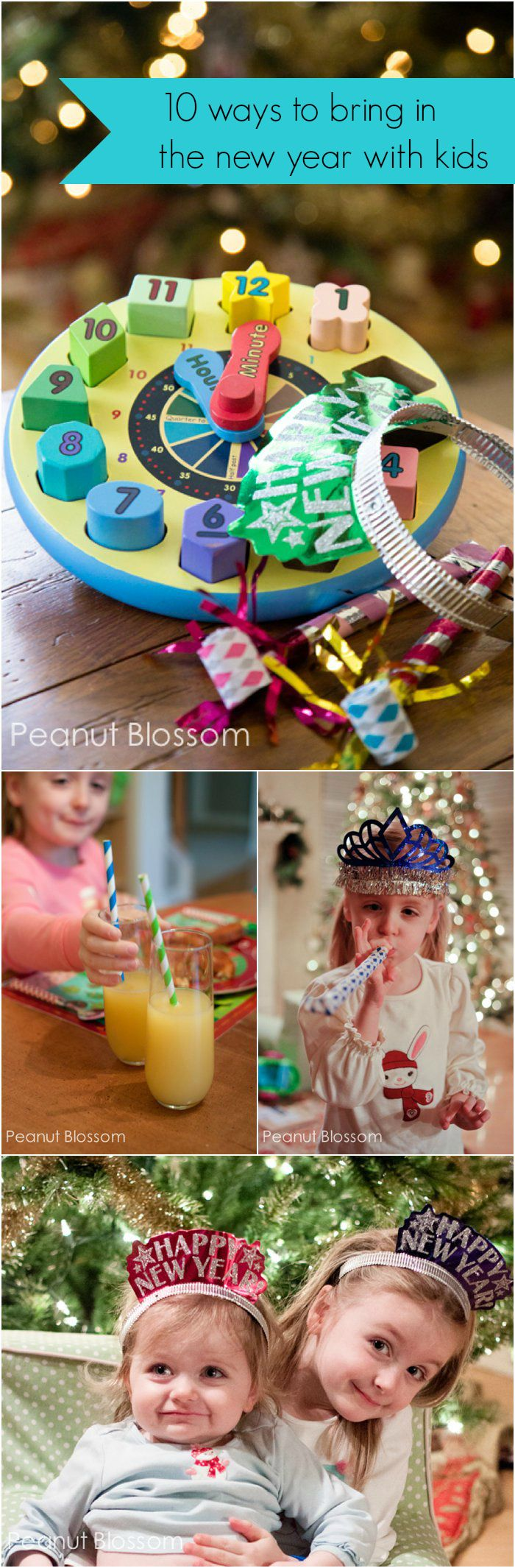 "Do you celebrate New Year's Eve as a family or have you let that holiday go now that you're a parent? Are you all ""festived"" out or do these ideas sound fun?"